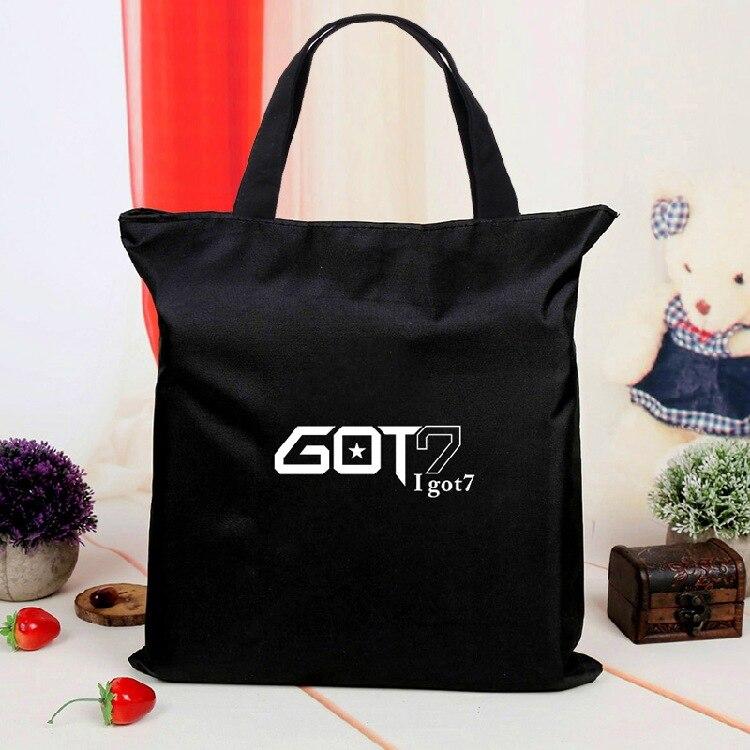 got7 New Pen Bag Comestic Case Mesh Bag Kpop Collection Sa18091106 Buy Now mykpop Toys & Hobbies