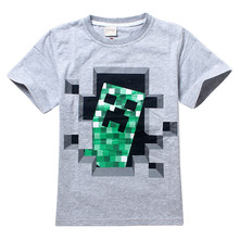 2015 summer style brand boy t-shirt baby boy t shirts children clothing kids clothes minions t-shirt boys 4-14 years old