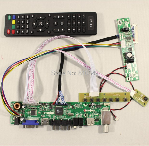 TV PC HDMI CVBS RF USB AUDIO lcd controller Board VST29 03B for 21 5inch T215HVN01