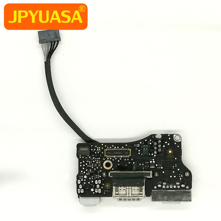 5 Pieces USB Power Audio Board I/O Board For Macbook Air 13 inch A1466 Mid 2013 to Early 2015 820-3455-A i o board usb sd card reader board 820 3071 a 661 6535 for macbook pro retina 15 a1398 emc 2673 mid 2012 early 2013