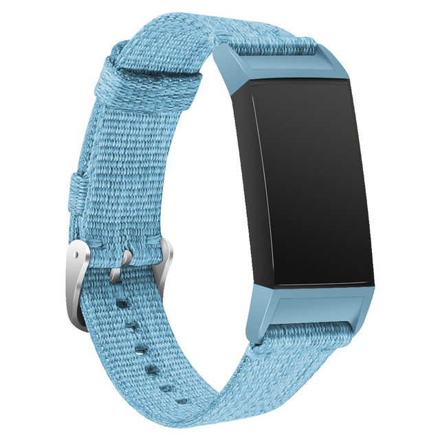 Fitbit Charge 3 Soft Nylon Strap