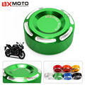 For Yamaha R3 R25 Yzf R1 R6 Mt07 Mt09 2016 Motorcycle Parts Rear Brake Fluid Reservoir Cover Cap Green Top Fashion
