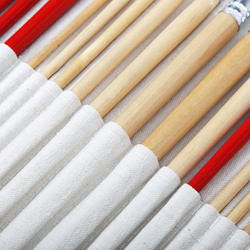 38 шт набор кистей для рисования с Сумки-холсты для масла акрил акварель Краски ing Длинная Деревянная ручка многофункциональный