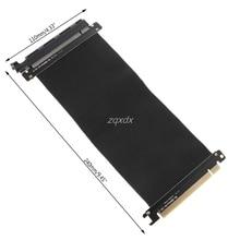 Adaptador de tarjeta extensor de elevador PCIExpress 16x de alta velocidad, Cable Flexible, venta al por mayor y envío directo