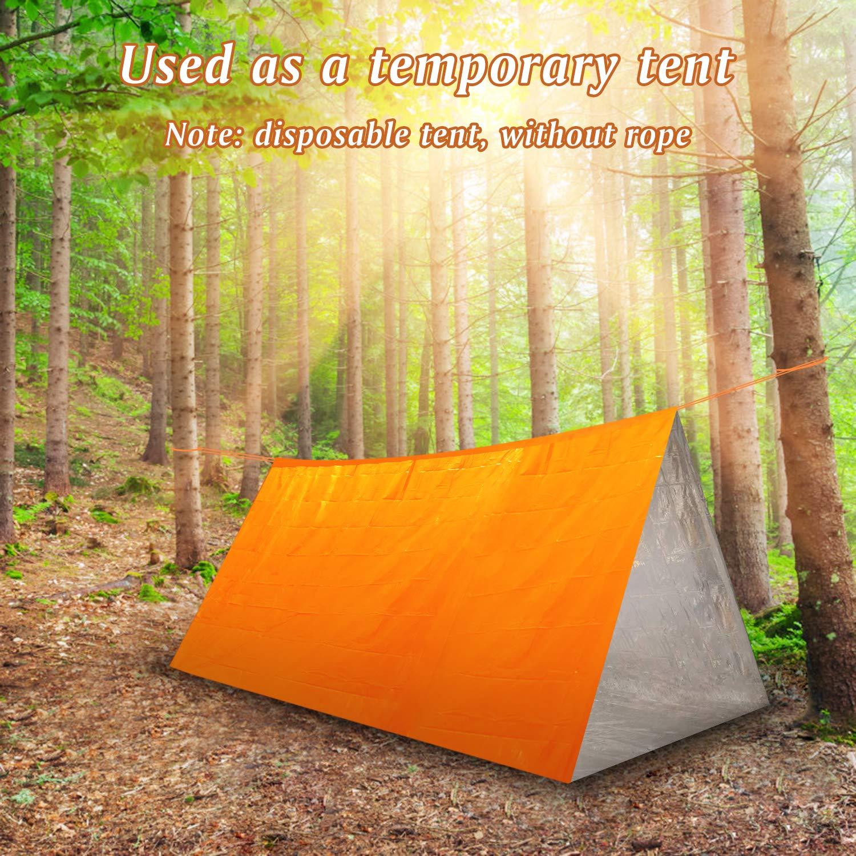 Camouflage Emergency Survival Sleeping Bag Portable Waterproof Reusable Thermal Sleeping Bags