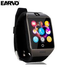 Earvo bluetooth smart watch q18s unterstützung nfc sim-karte gsm Video Kamera für Android/IOS Handy pk APRO Q18 U8 Smartwatch