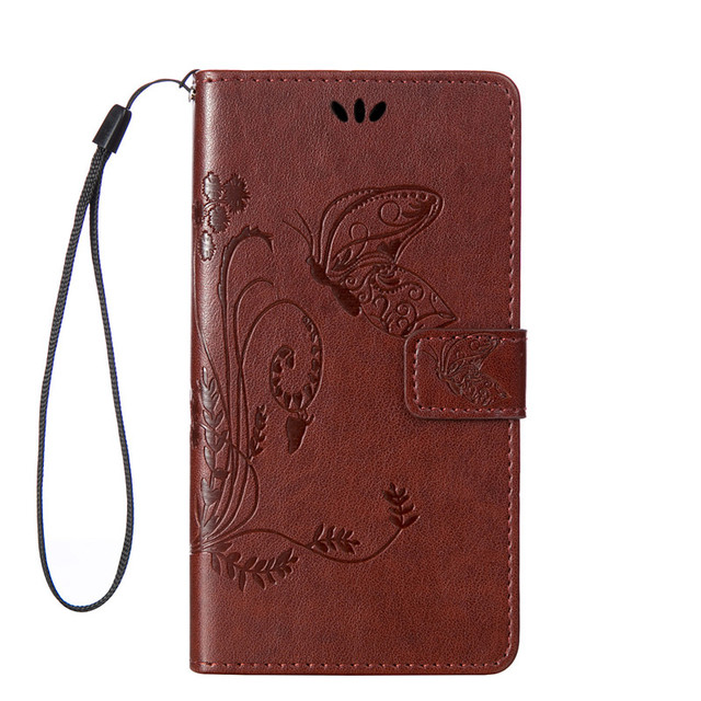 Phone Cases for Samsung A5 2015 Case Painting Butterfly Stand Leather Wallet Case Shell for Samsung Galaxy A5 phone case A500F