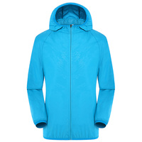 Unisex Sports Zipper Ventilation Hooded Air Conditioning Coat Waterproof Smart With Cooling Fan Sun Protection Three Gear Hiking