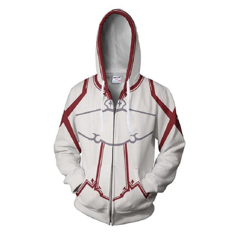 2018 new fashion Cool sweatshirt Hoodies Men women 3D printed Red Arrow Naruto hot Style Streetwear Long sleeve clothing tops