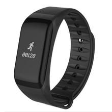 Smart Band измерять кровяное давление часы F1 Smart часы монитор сердечного ритма SmartBand Беспроводной фитнес для Android IOS Телефон