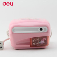 Deli New Cartoon Electric Pencil Sharpener For Student Stationery School Supplies Pencil Sharpeners Creative Automatic 40D0706