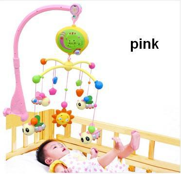Baby Infant Toys For Girl Boy 0 12 Months Bed Crib Hand Musical