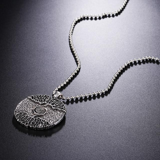 collier Viking arbre de vie  3