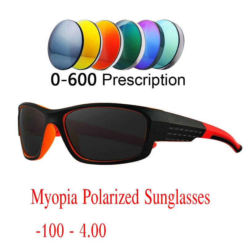 9bb045d9874 MINCL 2019 Myopia Sunglasses With Diopter Men Women Finished Shortsighted Men  Driving Goggles with Box