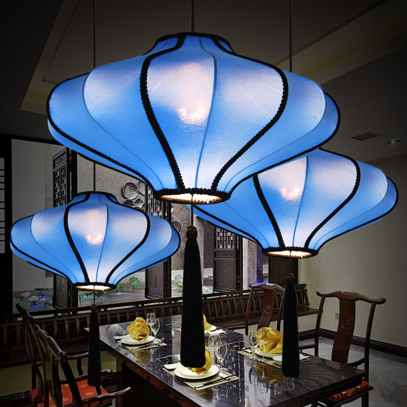 40COM modern chandelier chandelier new Chinese restaurant, teahouse hotel in Southeast A ...