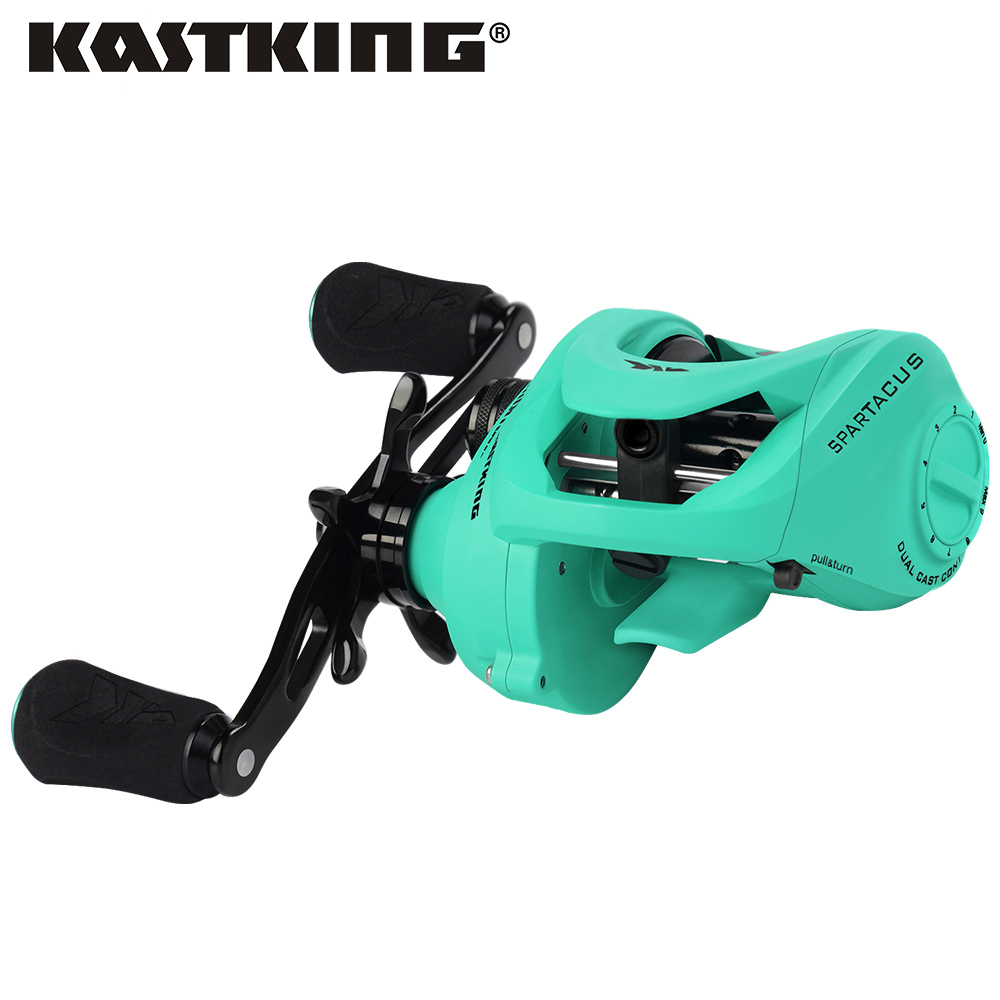 KastKing Spartacus Maximus Metal Body Amazing 25Lb 11 33KG Drag Power Baitcasting Reel 11 Bearings 6