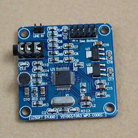 Free Shipping 1PC New VS1053 MP3 Module Development Bard On Board Recording Function