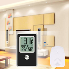 Buy Wireless LCD Household Temperature Humidity Meter Electronic Weather Station Thermometer/Hygrometer Indoor Outdoor Tester
