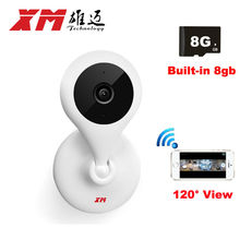 IP Camera Wireless 720P 120 degree Wide Angle Home security Camera CCTV Mini Camera WiFi Cam Motion Alarm XMEye APP Cameras