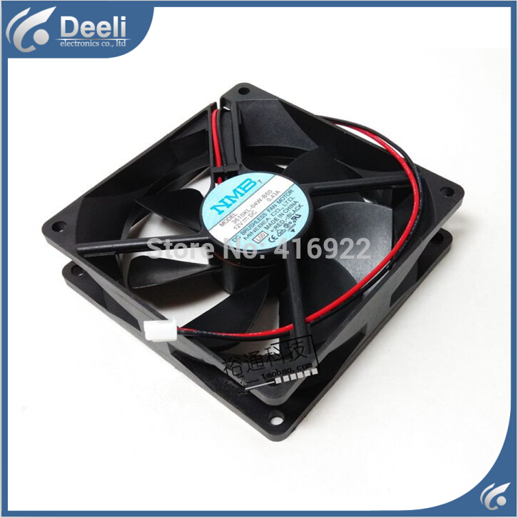 new good working refrigerator cooling fan NMB 9225 12V 0.43A 3610KL-04W-B50 3K UPS fan 92*92*25MM good Working on sale delta 12038 12v cooling fan afb1212ehe afb1212he afb1212hhe afb1212le afb1212she afb1212vhe afb1212me