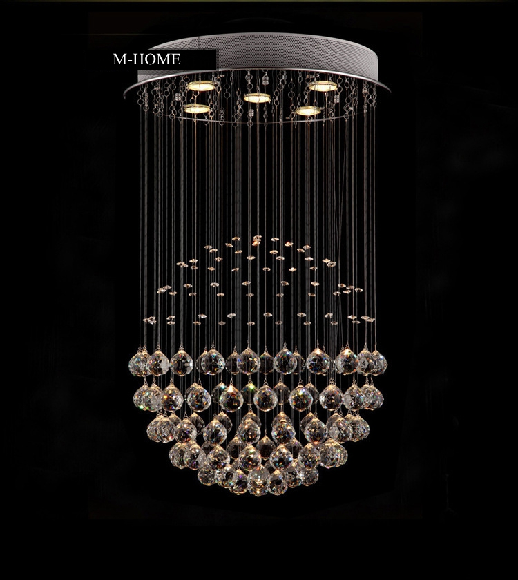 LukLoy LED Crystal Chandelier, Modern LED Chandeliers Lighting, Ceiling Lamps Light Pendant for Living Room Decoration modern led crystal chandelier lights living room bedroom lamps cristal lustre chandeliers lighting pendant hanging wpl222