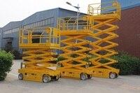 6 м высота гидравлический самоходный ножничный подъемник платформы