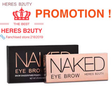 Brand NEW HOT-SELL HERES B2UTY Professional Eyebrow Powder 2 color Palette WIth Oblique Head + Spiral Brush