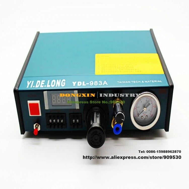 Haute qualité doming résine point colle machine de distribution contrôleur pour différentes liquide stent colle époxy doming résine 220 V