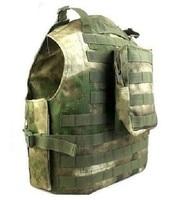 Military Vest Molle Tactical Vest Army fans amphibious vests A TACS FG Color PRO MOLLE VEST