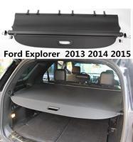 자동차 액세서리 후면 부팅 트렁크화물 커버 그늘 보안 쉴드 블랙 1pcs for ford explorer 2011-2018
