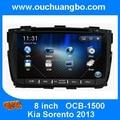 Navegação do carro DVD GPS Kia Sorento 2013 com canbus espanhol MP3 media CD player