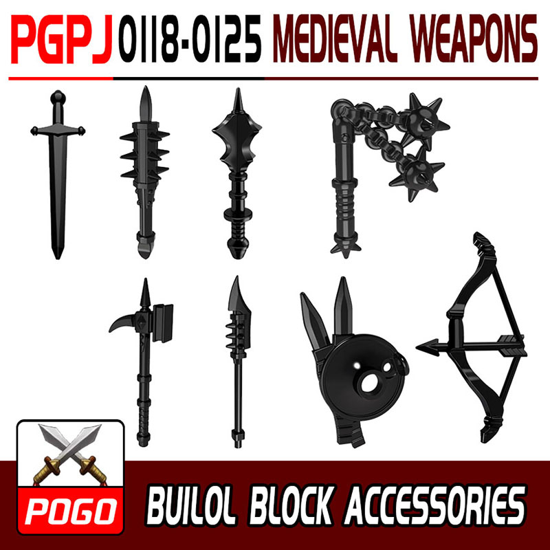 middle ages knights weapons