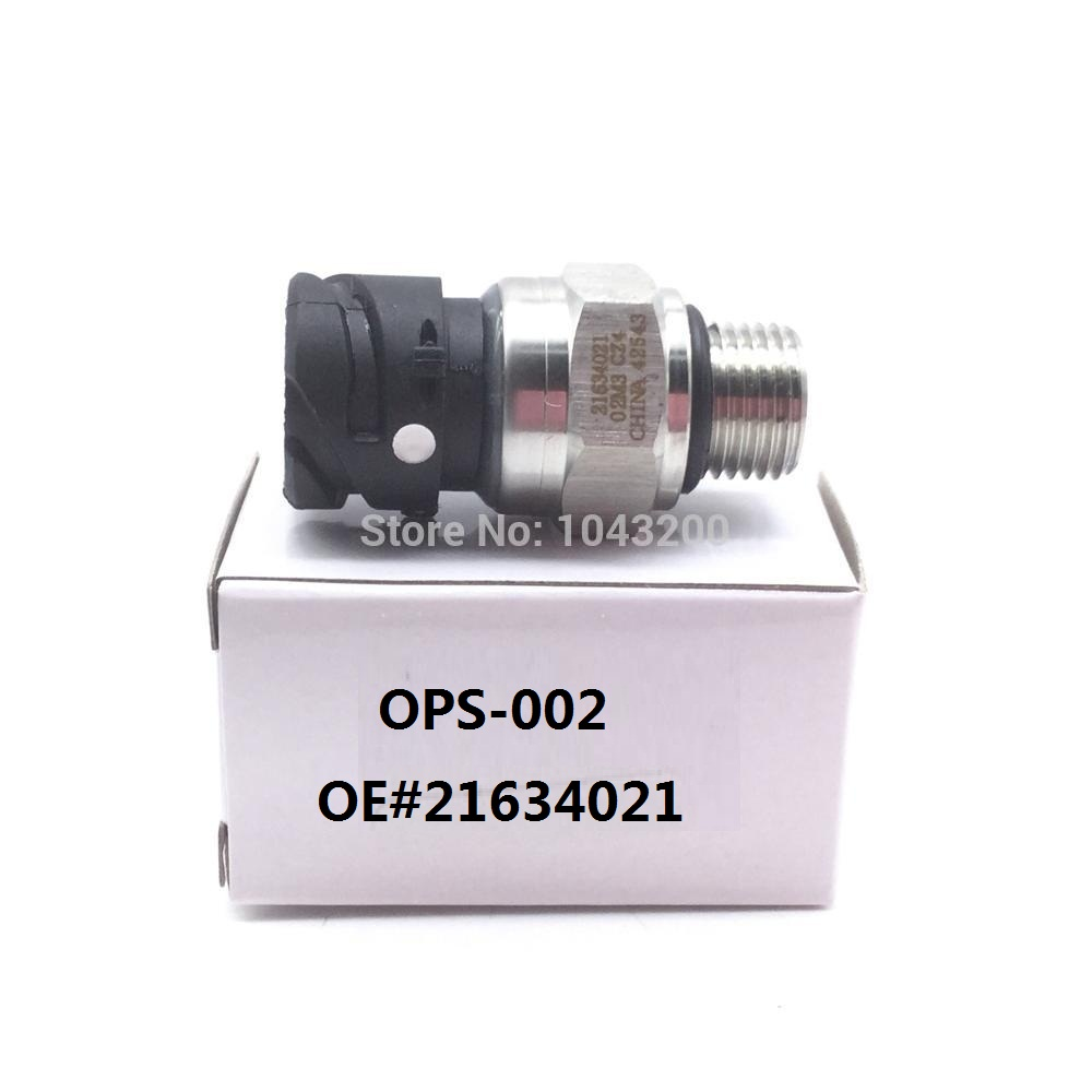 21634021 Oil & Fuel Pressure Sensor For VOLVO DIESEL D12 D13 FH FM Penat Truck OE# 20634024 21302639 21540602