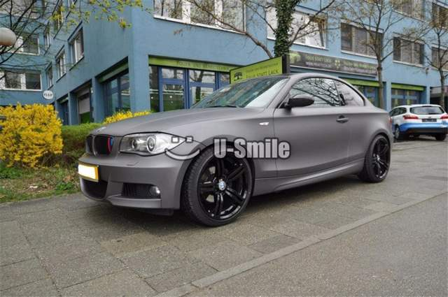 Us 155 0 20 Off Matte Gunmetal Grey Vinyl Wrap Air Bubble Free Gray Metallic Matt Film For Car Wrapping Size 1 52x30m Roll In Car Stickers From