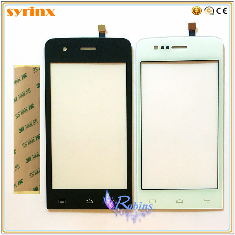 SYRINX Mobile Phone Touch Panel Front Glass Len For Explay Hit Touch Screen Digitizer Sensor Replacement TouchscreenSYRINX Mobile Phone Touch Panel Front Glass Len For Explay Hit Touch Screen Digitizer Sensor Replacement Touchscreen