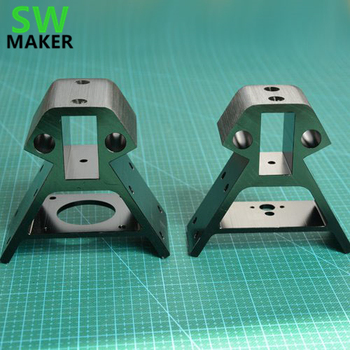SWMAKER 2040 алюминиевый профиль рамка дно/верхний Vertex металлические углы для DIY Kossel XXL 3D принтер черный золотой синий цвет