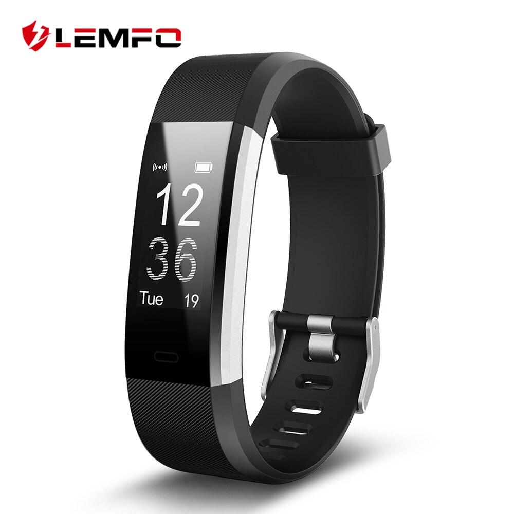 ID115 HR Plus Smart Armband Armband Unterstützung Pulsmesser Fitness Tracker Smartband für Android IOS Telefon