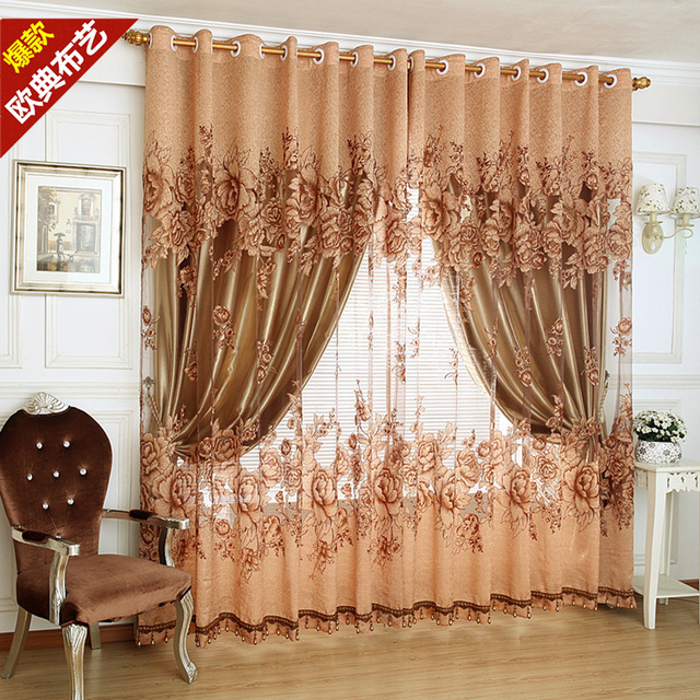 Us 37 05 5 Off Quality Full Dodechedron Curtain Cloth Window Screening Fashion Modern 2014 Finished Products The Price Is For 100cm 260cm In