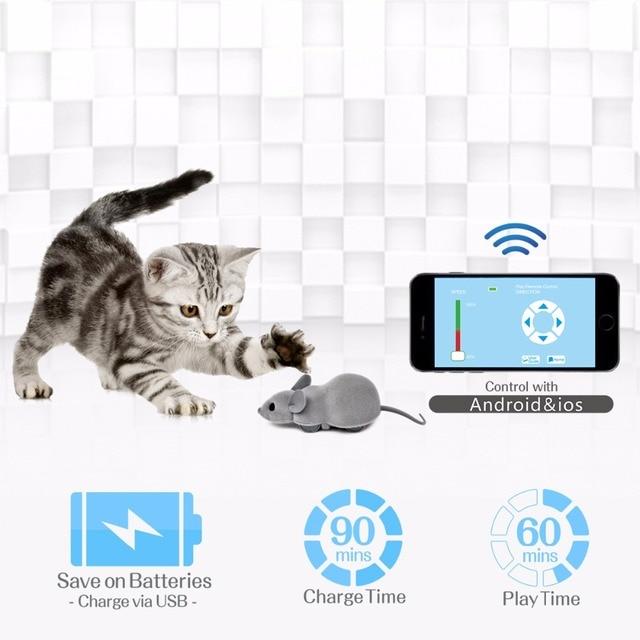 jouet chat connecte