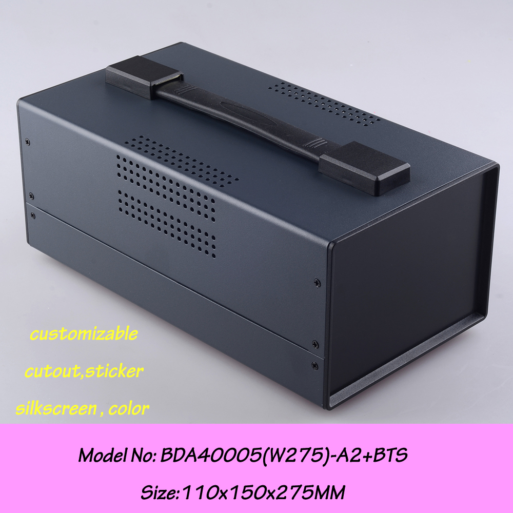 (1 pc) Standard Iron enclosure for device enclosure 150*110*275mm electrical equipment supplies