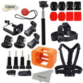 Accessories for GoPro Hero 5 Session/ Hero Session Mounts Bundle GoPro Camera Floaty Chest Harness Head Strap Monopod Stick Kit