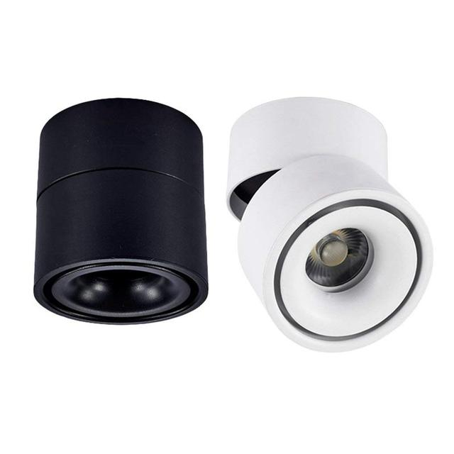2 Cái/lốc Mờ Bề Mặt Gắn Đèn LED Âm Trần COB Đèn Downlight 7W 10W Đèn AC90 260V Âm Trần Chiếu Điểm Có Đèn LED trình Điều Khiển Chiếu Sáng Gia Đình