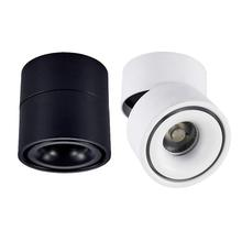 2pcs/lot Dimmable Surface Mounted LED COB Downlight 7W 10W LED Lamp AC90 260V Ceiling Spot Light With LED Driver Home Lighting