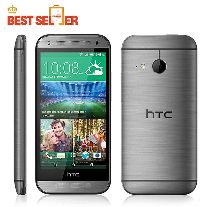 "Цена за Оригинал M8 Мини Разблокирована HTC One Mini 2 Мобильного Телефона 4.5 ""сенсорный 1 ГБ RAM 16 ГБ ROM 13MP Камера WIFI GPS Многоязычный"