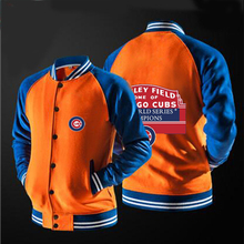 In 2017 FIFAI the new free shipping New chicago cubs fans jacket coat no hat,The highest quality, USA size.
