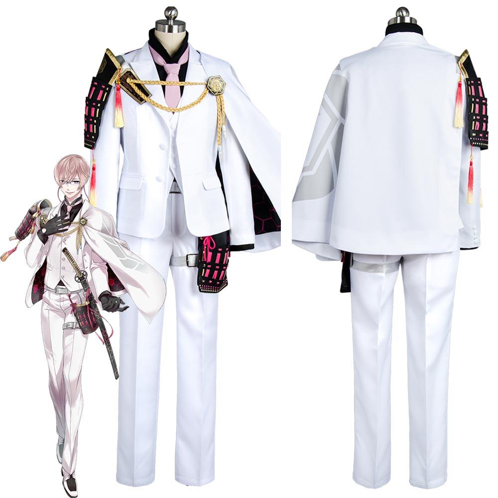 Anime Touken Ranbu Kikkou Sadamune Outfit Cosplay Costume Custom Made Carnival Halloween Costumes