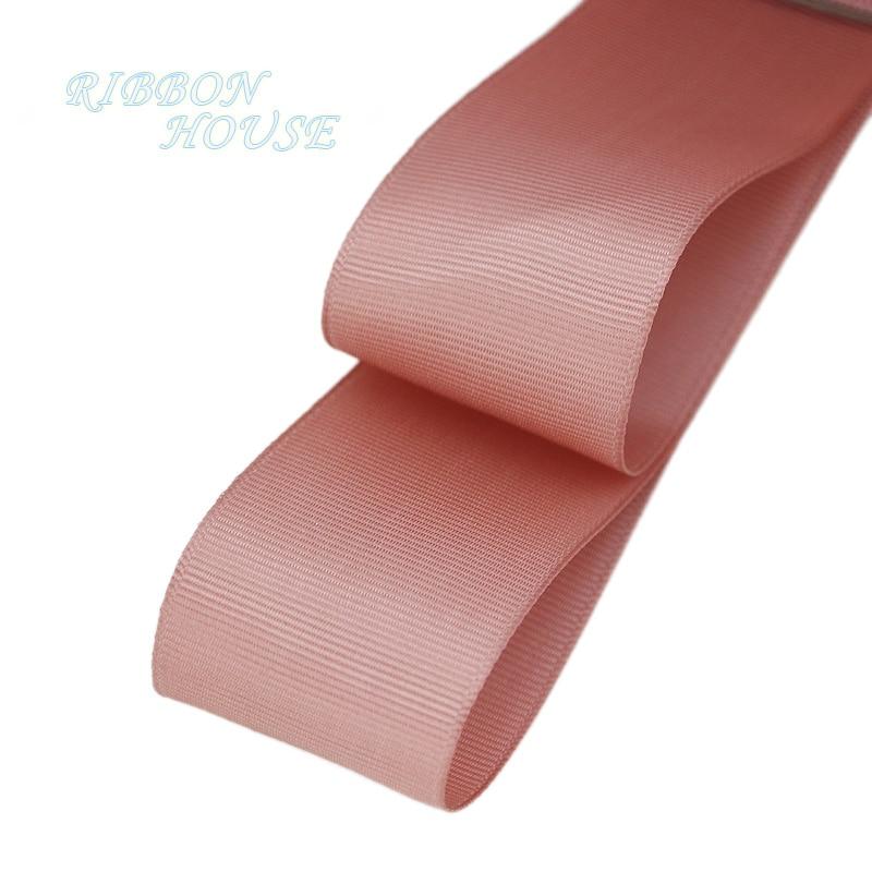 (5 м/лот) 40 мм розовый мясо корсажная лента подарочная упаковка оптом Новогоднее украшение ленты