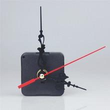 Classic Quartz Clock Movement Mechanism DIY Repair Tool Kit with Black & Red Hands Wall Parts