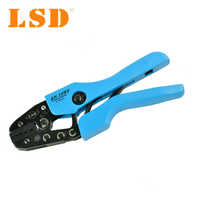 Ratchet crimping tool/pliers for wire ferrules 1-10mm2 Crimper hand  terminal crimping tools AN-10WF