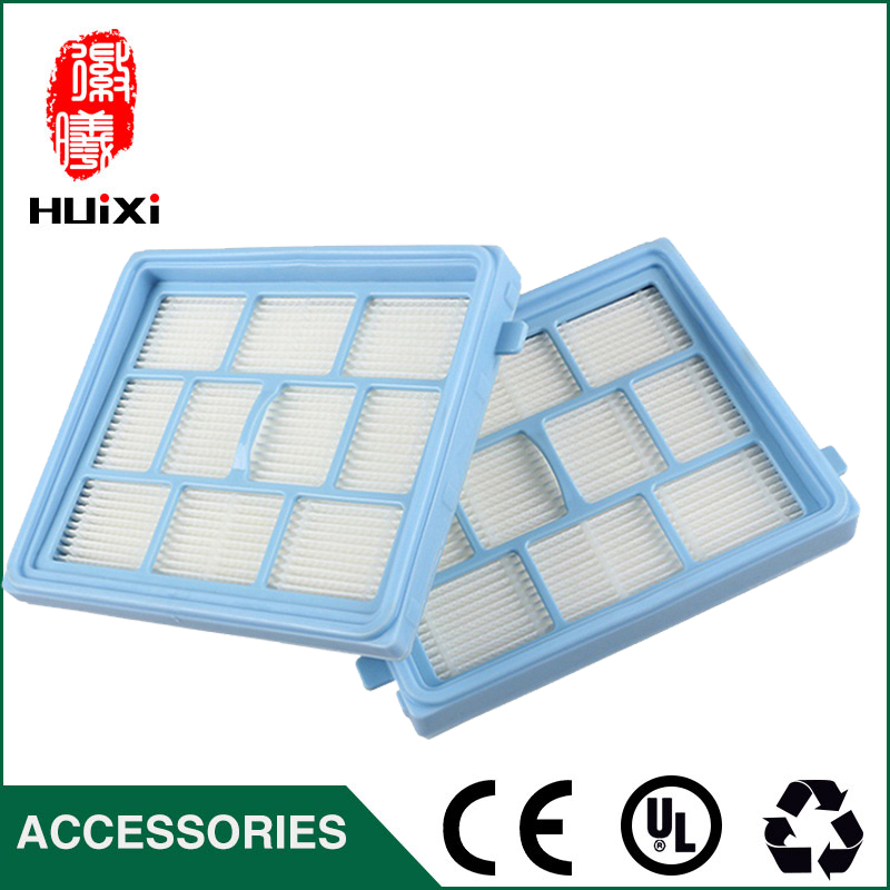 1PCS blue hepa filter Vacuum Cleaner Accessories and parts Vacuum Cleaner for VC34J-09C VC34J-09C1 VC12C1-VV etc. motor hepa filter for bosch siemens bsgl3126gb bsgl312gb vacuum clear spare part replacement vacuum cleaner accessories parts